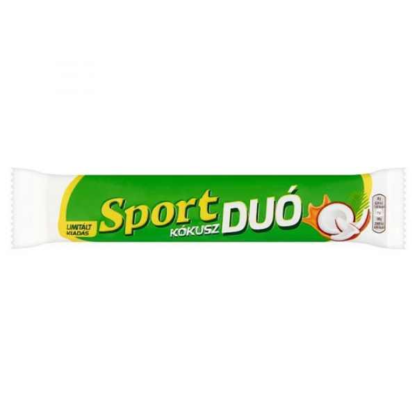 Sport Duo kókusz 60g / Sport chocolate bar with coconut