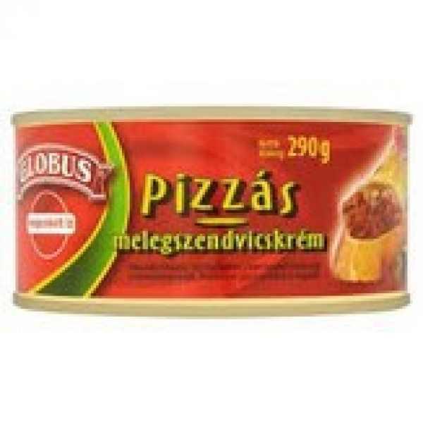 Globus Pizzás Melegszendvicskrém 290g – Sandwich cream