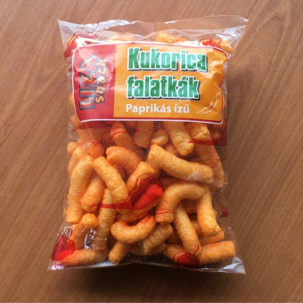 Paprikás Kuki 40g – Corn snack paprika flavour