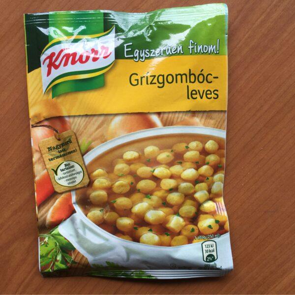Grizgomoc Levespor Knorr – Soup sachet with semolina