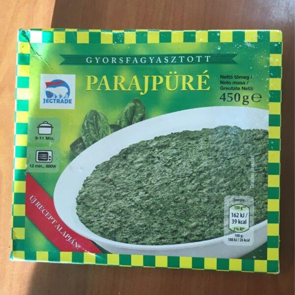 Parajpüré 450g Iglo (fagyasztott) – Spinach