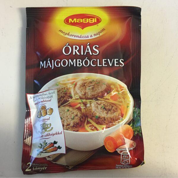 Óriás Májgombócleves Maggi – Soup sachet with Large Liverball