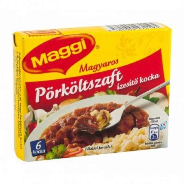 Maggi pörköltszaft kocka 6db-os – Stew stocks