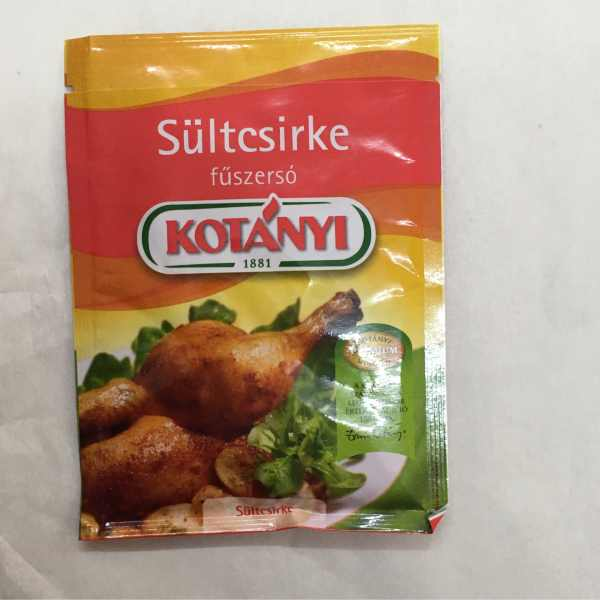 Sültcsirke Füszersó 40g Kotanyi – Roasted chicken spice