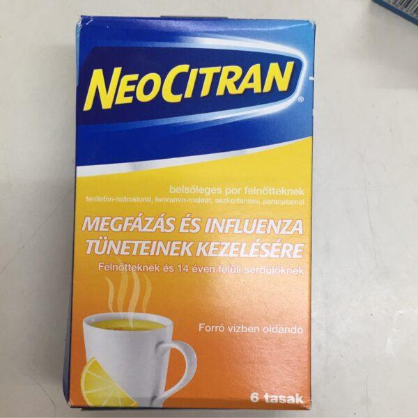 Neo Citran 6 Tasak / Cold relief drink