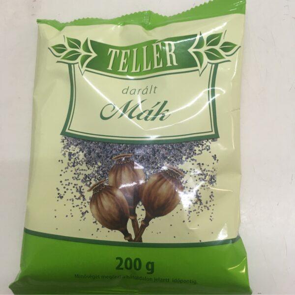 Daralt mak Teller 200g – Poppy seeds grinded