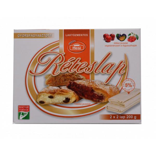 Réteslap (fagyasztott) – Strudel pastry
