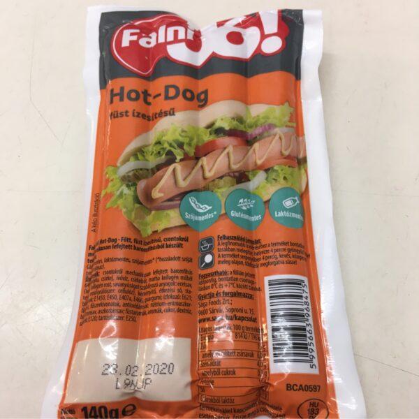 Hot Dog Füst Izesitésü 140g – Smoky Frankfurter