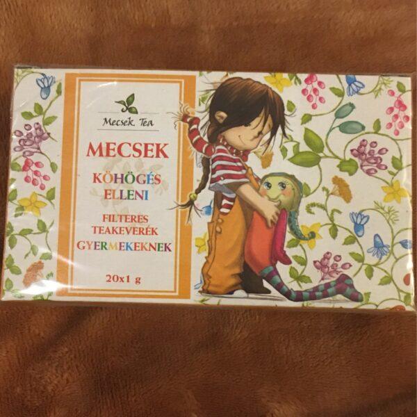 Köhögés elleni teakeverék gyerekeknek – Herbal tea Cough aid, children