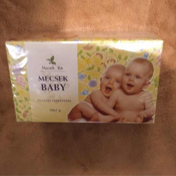 Mecsek Baby teakeverék 20 filter – Herbal tea for babies