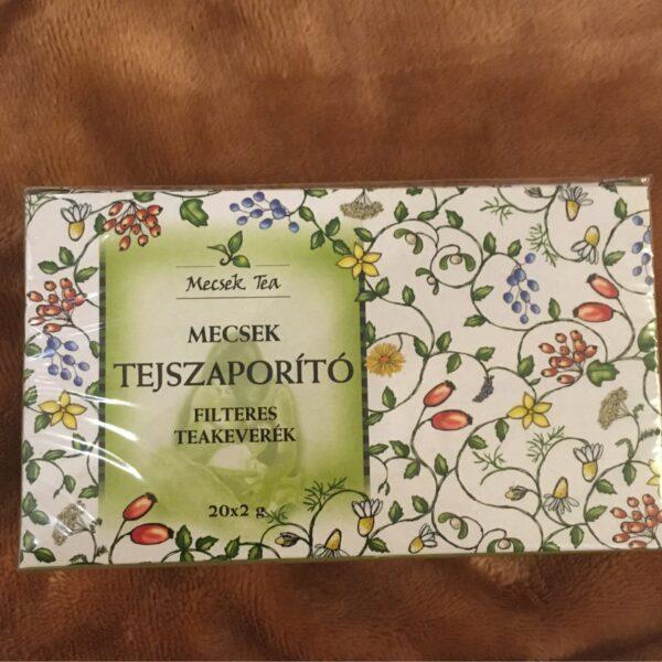 Tejszaporitó teakeverék 20 filter