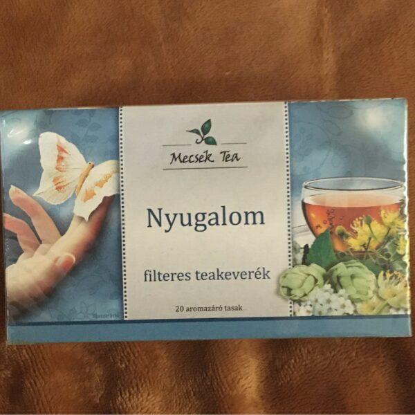 Nyugalom teakeverék 20 filter – Herbal tea for calmness