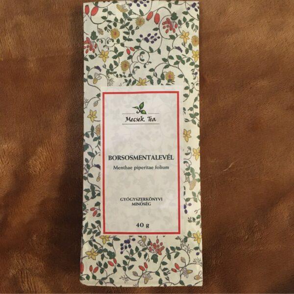 Borsosmenta levél 40g – Peppermint leaves tea