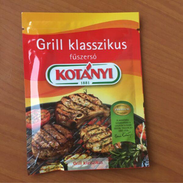 Grill Klasszikus Füszersó Kotányi 40g – Grill spice