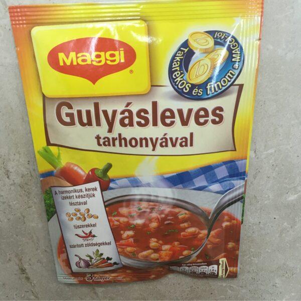 Maggi Gulyásleves Tarhonyával 48g – Goulash soup sachet
