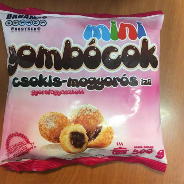Mogyoros Gomboc 500g (Fagyasztott) – Nutcream dumplings