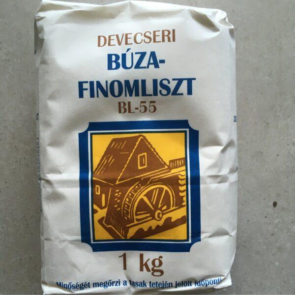 Devecseri Finomliszt 1kg – Plain flour