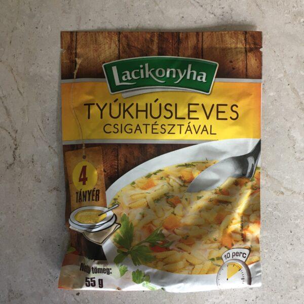 Tyúkhúsleves Lacikonyha 55g – Chicken soup sachet