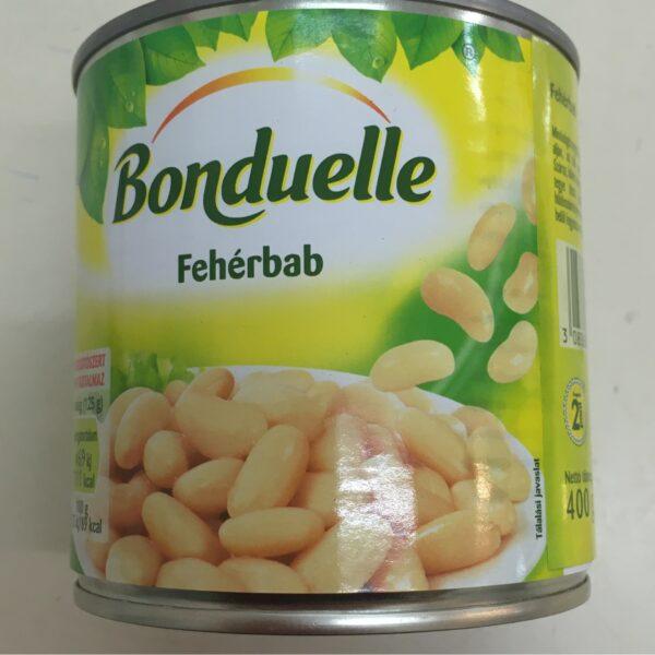 Fehérbab konzerv 400g – White beans in tin