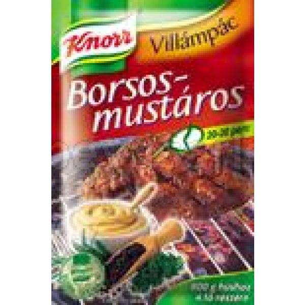 Knorr Borsos Mustáros Pác – Pepper, mustard spice