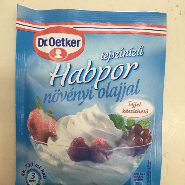 Habpor – Double cream powder
