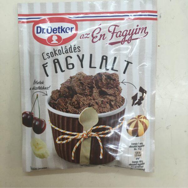 Fagyipor csokoládé Dr. Oetker – Icecream mix