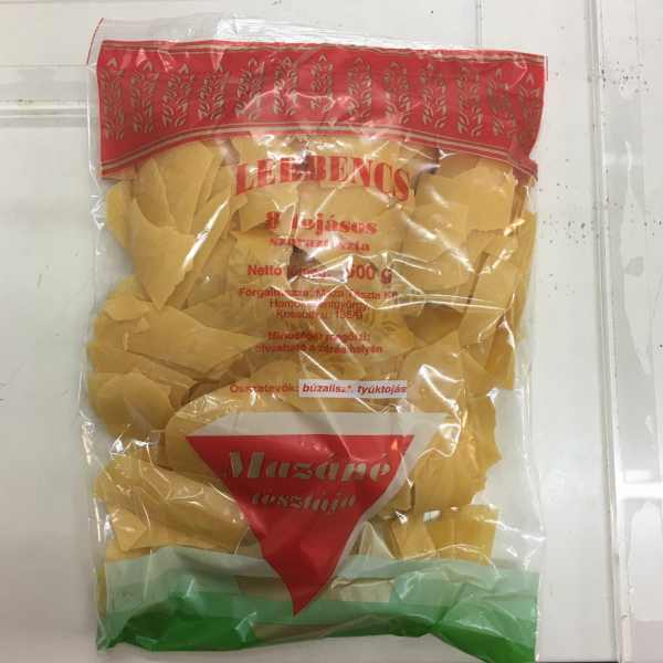 Lebbencs tészta 500g – pasta