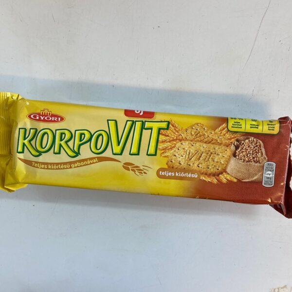 Korpovit keksz – Wholemeal biscuit