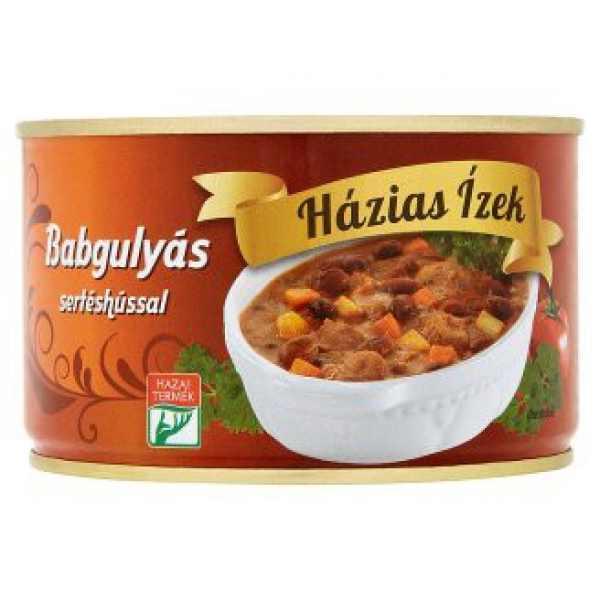 Babgulyás konzerv 400gr Házias Ízek – Bean goulash in tin