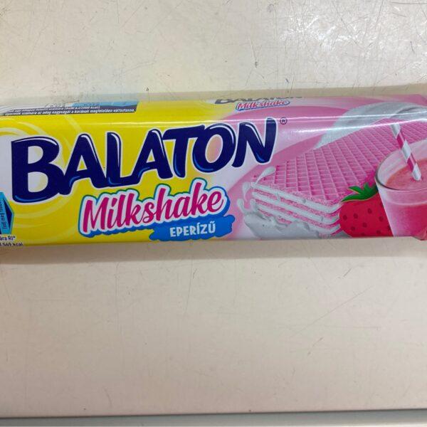 Balaton milkshake eper / Wafer with strawberry cream