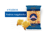Gyermelyi Fodros nagykocka 500g – frilly squares pasta