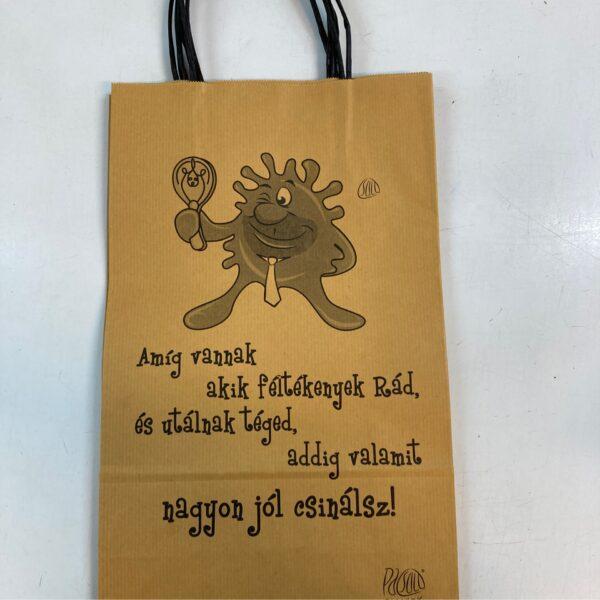 Ajándéktasak felirattal – Gift bag