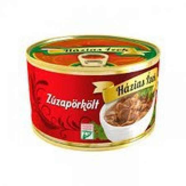 Zúzapörkölt konzerv 400g Hazias Ízek – Chicjen gizzard stew tin