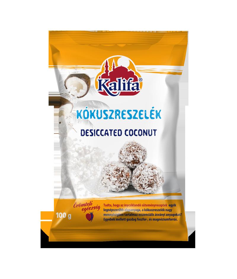 Kókuszreszelék 100g Kalifa – Grated coconut