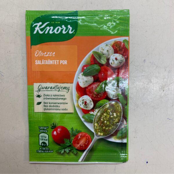 Salátaöntet por Olaszos Knorr – Salad dressing Italian style