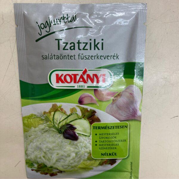Tzatziki salántaöntet Kotányi – Salad dressing Tzatziki