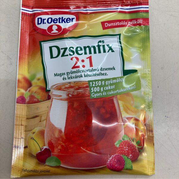 Dzsemfix 2:1 Dr Oetker – Jam preservative