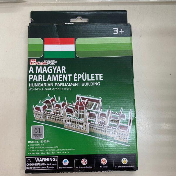 Magyar Parlament 3D kirakó