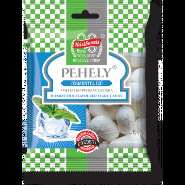 Pehelycukor jégmentol / Flaky candy mint