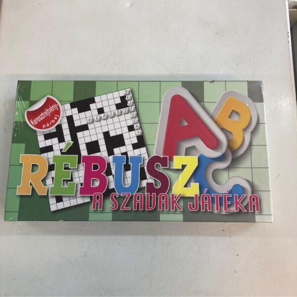 Rébusz – A szavak játéka társasjáték / Board game