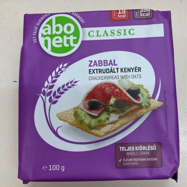 Abonett zabbal – Crackerbread with oats