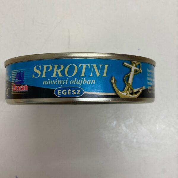 Sprotni növényi olajban – Sardine in oil