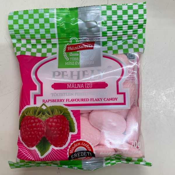 Pehelycukor málna – Flaky candy rasperry