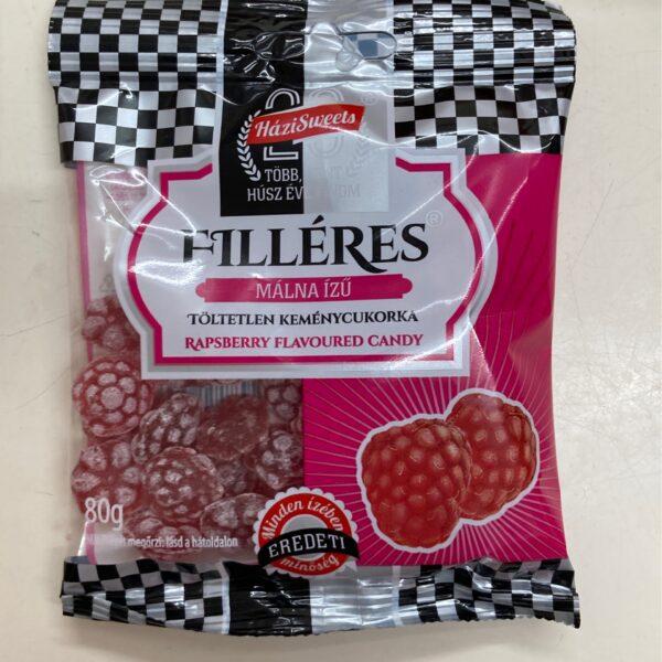 Filléres cukorka málna