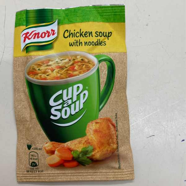 Bögrés Tyúkhúsleves – Cup a soup Chicken