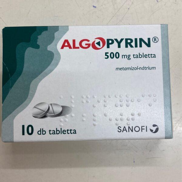 Algopyrin 500mg 10 tabletta
