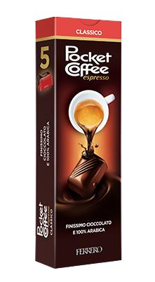 Pocket Coffee Ferrero T5
