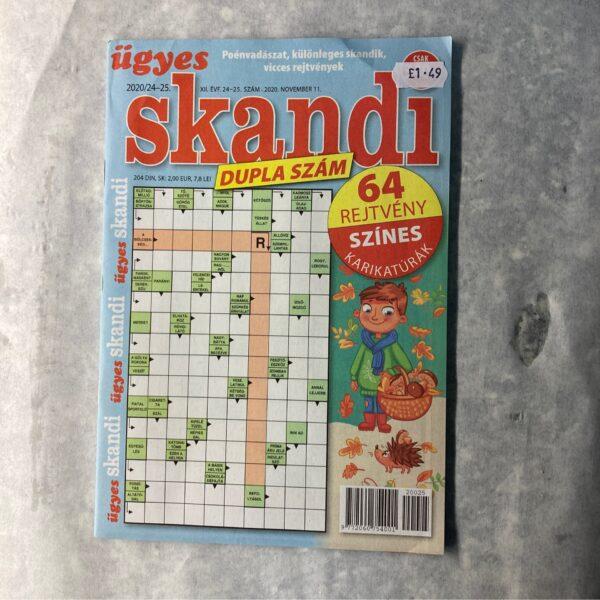 Ügyes skandi dupla szám / Hungarian Crossword