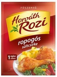 Ropogós sültcsirke füszer Horváth Rozi
