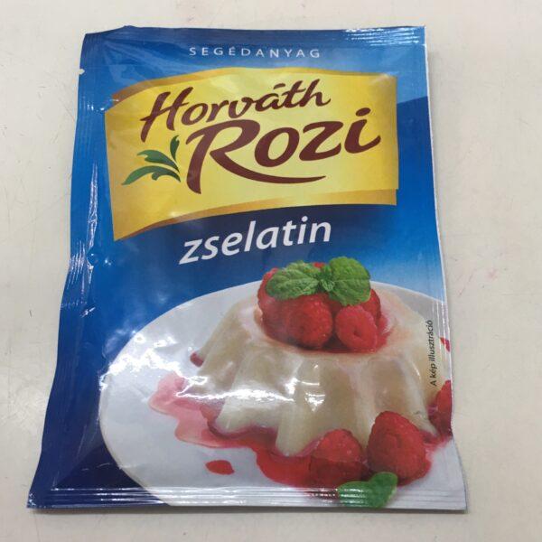 Étkezési zselatin Horváth Rozi 20g – Gelatine